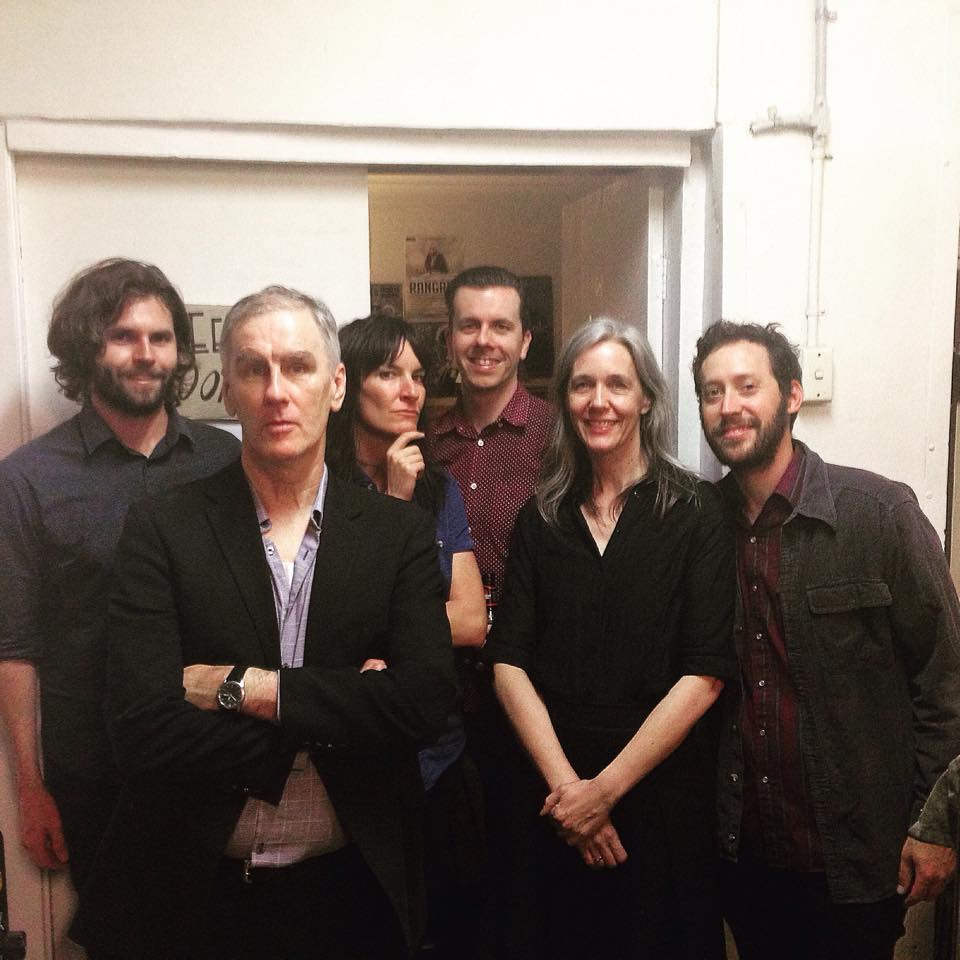 Jen Cloher with Robert Forster & band