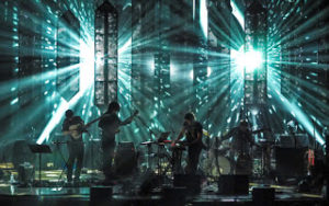 Sufjan Stevens and band performing Blue Bucket of Gold in Los Angeles on 3 June 2015