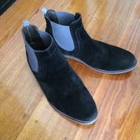 The offending footwear