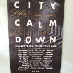 City Calm Down poster