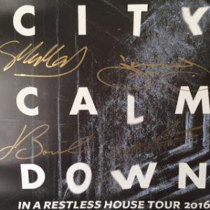 City Calm Down autographs