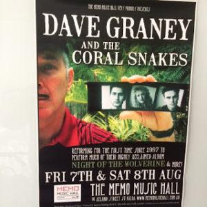 Dave Graney poster