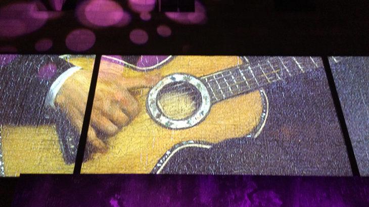 Degas guitar The Apartments NGV