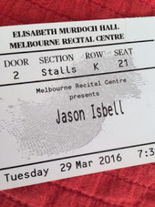 Jason Isbell ticket