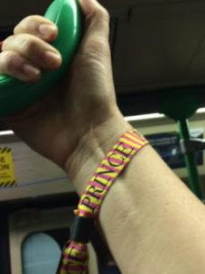 Prince wristband