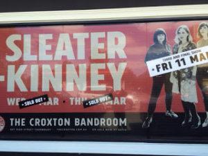Sweater Kinney poster