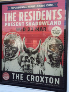 The Residents poster