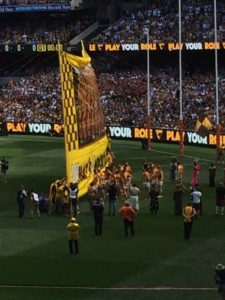 2015 Grand Final - here Come the Hawks