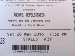 Anohni ticket