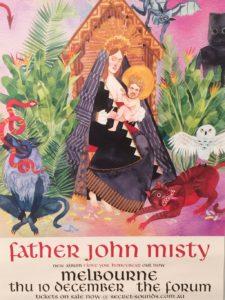 Father Jihn Misty poster - portrait
