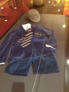 Angus Young school uniform