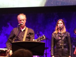 Mick Harvey and Xanthe Waite