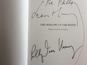 PJ Harvey signed