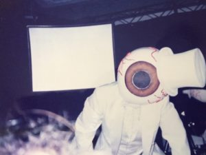 The Residents on stage 1986